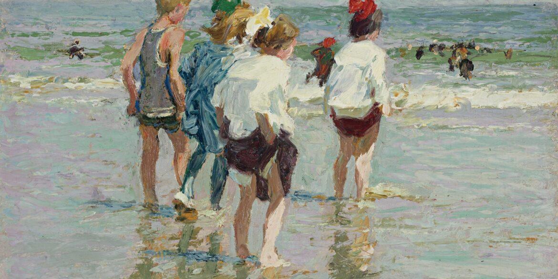 Edward Henry Potthast e l'arte che sa di estate